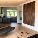 Kitchen dining room WoodUpp slat wall panels