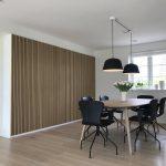Classic oak black felt dining room WoodUpp